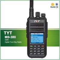 Original TYT MD 380 VHF Or UHF 5W Digital Mobile Radio DMR Two Way Radio Walkie