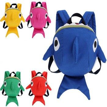 268b3dea Детский рюкзак с ремнем на лямках для малышей, Сумка с ремнем на поводке,  прогулочный рюкзак с крыльями для детей 1-3 лет