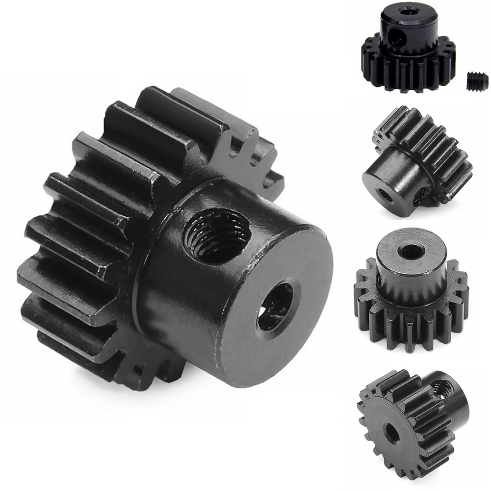 Tubwair Motor Gear for <font><b>1/18</b></font> RC Car A949 A959 A969 A979 K929 Upgrade Parts, Metal Motor Gear for Upgrading Your RC Car. image