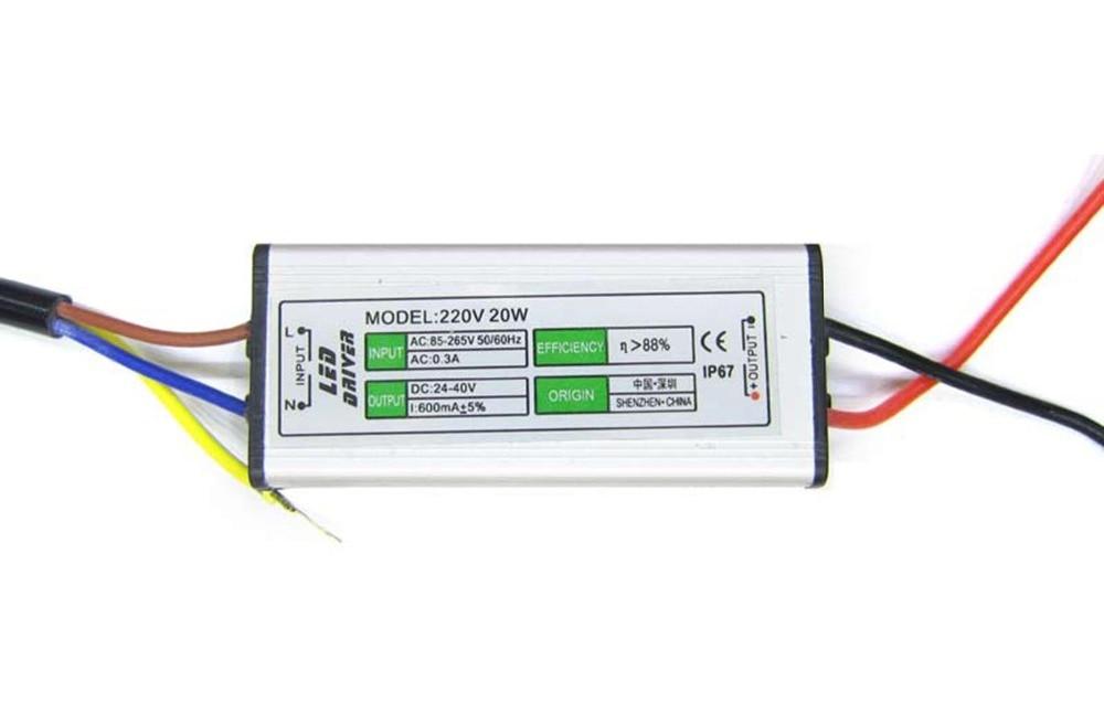LED vozač s napajanjem za napajanje od 10W 20W 30W 50W 70W 80W 100W - Različiti rasvjetni pribor - Foto 3