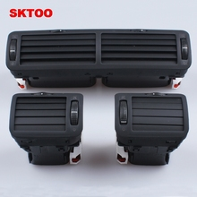 SKTOO 3pcs air outlet for VW Volkswagen passat B5 instrument central air-conditioning