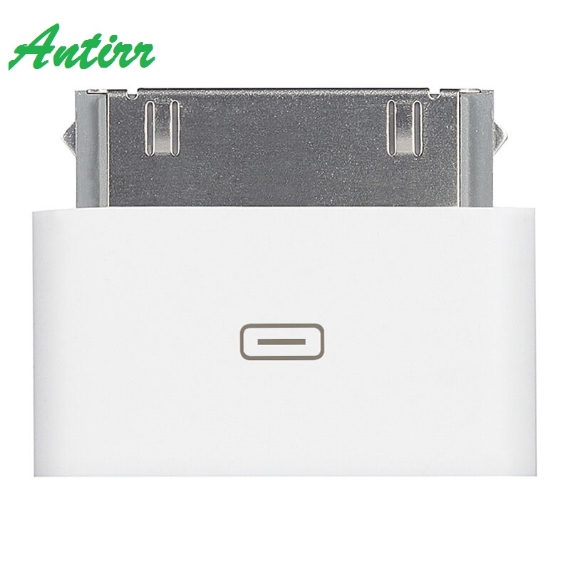 Micro USB Charging Cable Female <font><b>Adapter</b></font> For android to <font><b>30</b></font> <font><b>Pin</b></font> Male Charger Cable Connector for iPhone 4 4s For iPad Converter image