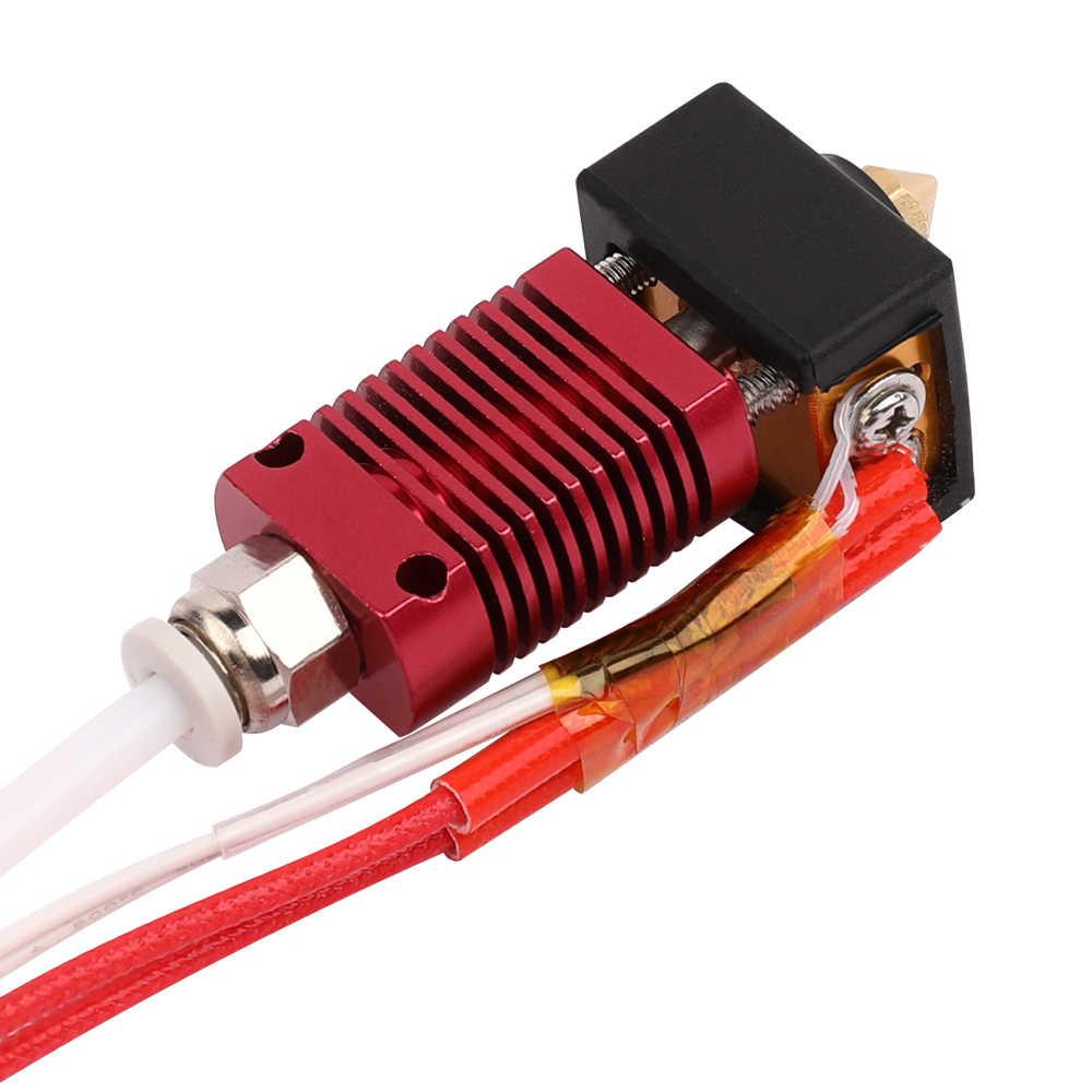 Обновление 3D принтер Экструдер Насадка с нагревателем блок силиконовая крышка для 1,75 мм нити Ender-3 3D-принтер часть