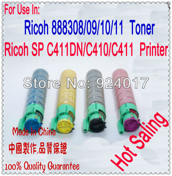 For Ricoh Aficio SP C410DN C411DN C420DN Toner Cartridge,For Ricoh SP C410 C411 C420 SPC410 SPC420 SPC411 Refill Toner Cartridge cheap price 4pk sublimation ink cartridge for ricoh gc41 for aficio sg3110dn aficio sg3110dnw aficio sg3110sfnw page 6