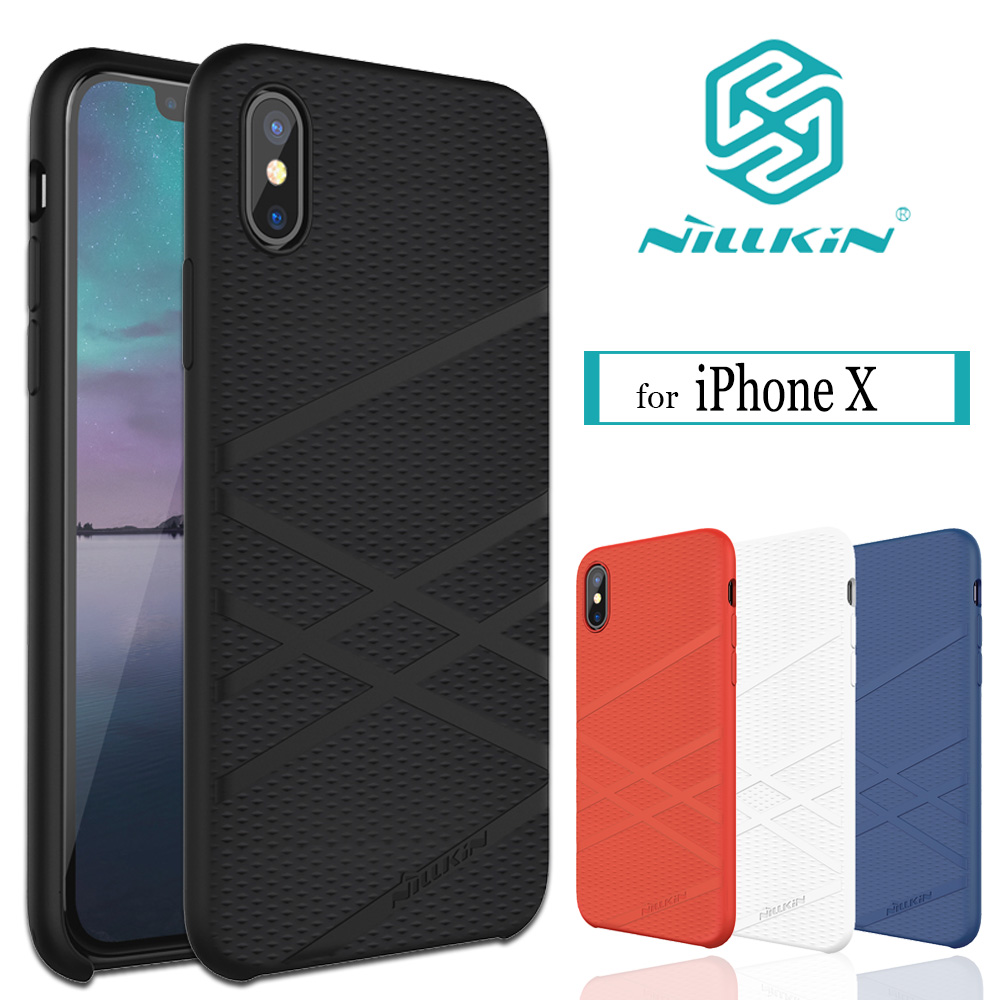 NILKIN for iphone X Case Nillkin FLEX Liquid Silicone