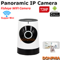 Home security Wifi IP Camera 720P Supper Mini plug and play wirelss Onvif remote view CCTV Camera 1.0MP P2P fisheye baby monitor