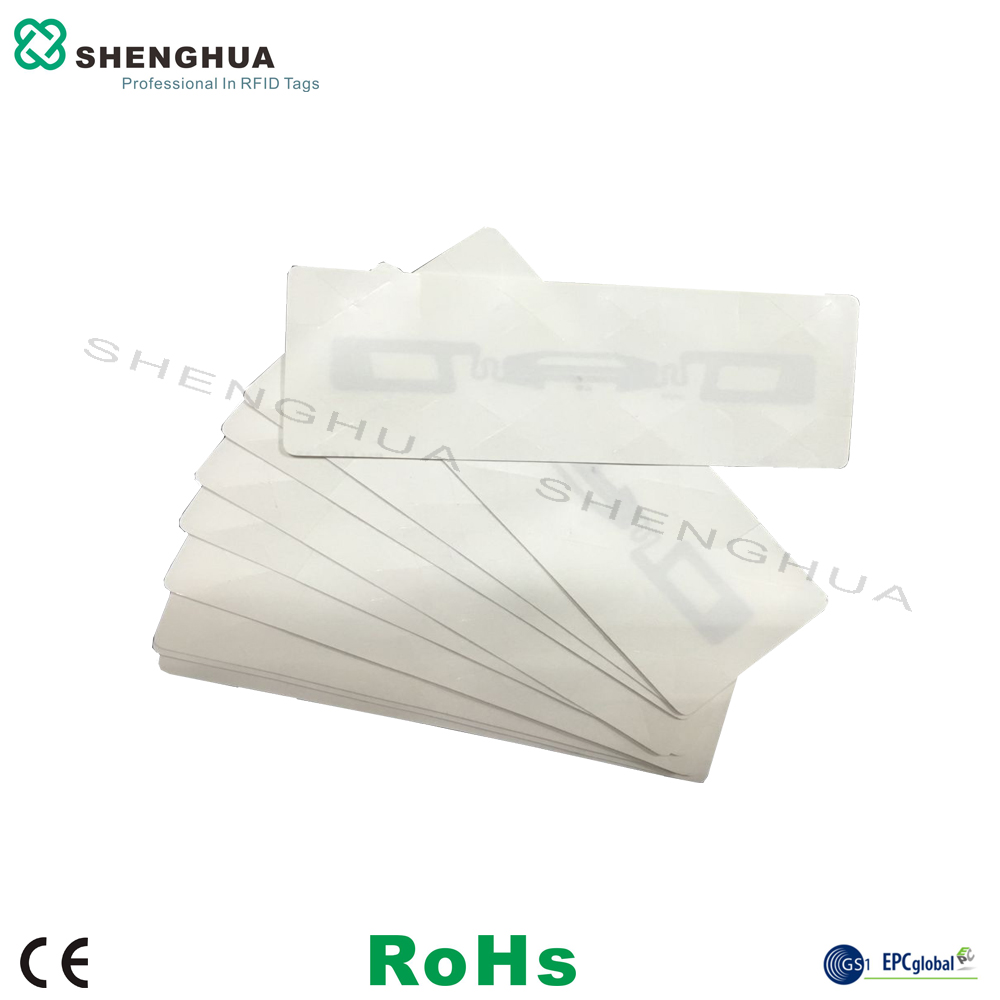 50pcs/lot Reliable Rfid Uhf Passive Winshield Tags Barcode Printable 860-960MHz Soft Flexible UHF RFID Vehicle Car Tag Tracking