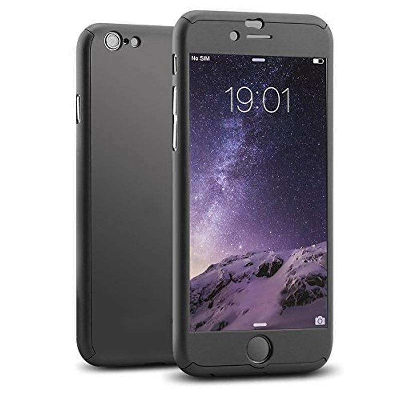Custodia protettiva ibrida a 360 gradi in Nanoskin per iPhoneX 8 7 6 6S Plus iPhone6 fundas coque protezione dello schermo in vetro temperato