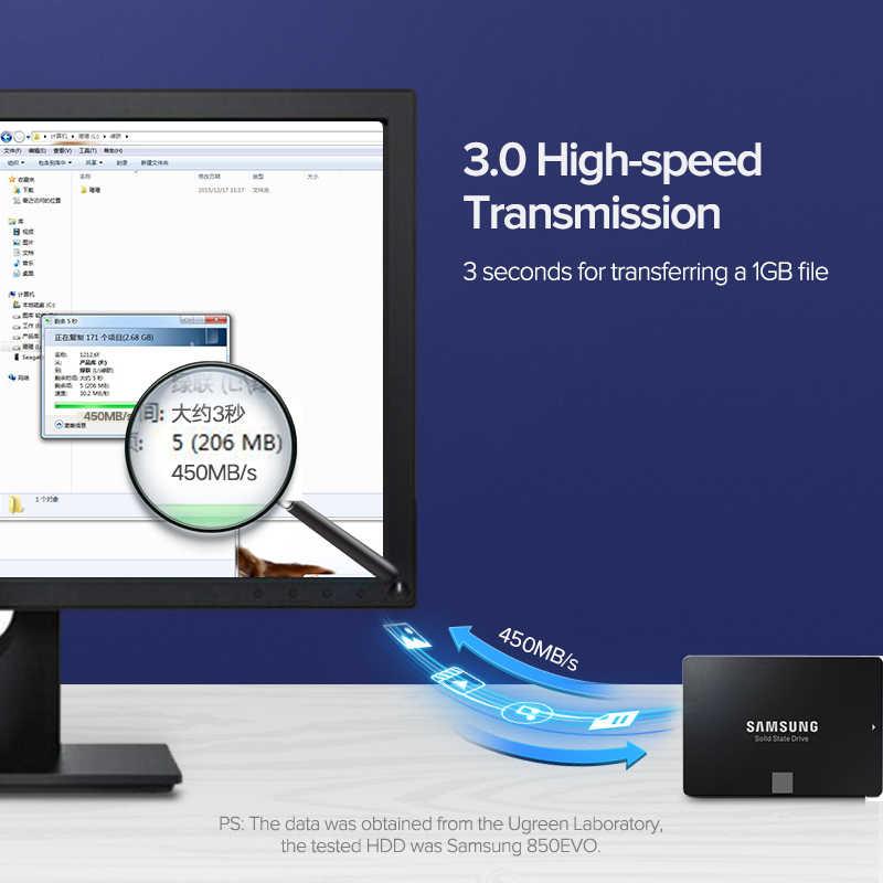 Ugreen sataケーブル 3.0 にハードディスクドライブ、ssd、hdd sata 3 ストレート直角ケーブルasus msiマザーボードケーブルsata