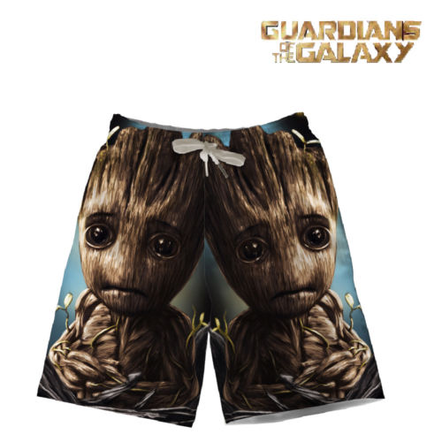 574495c115 Marvel Avengers/Guardians of the Galaxy Beach Shorts Swim Wear Sports  Trunks Pants Summer Cosplay Costume Fashion Gift Cool