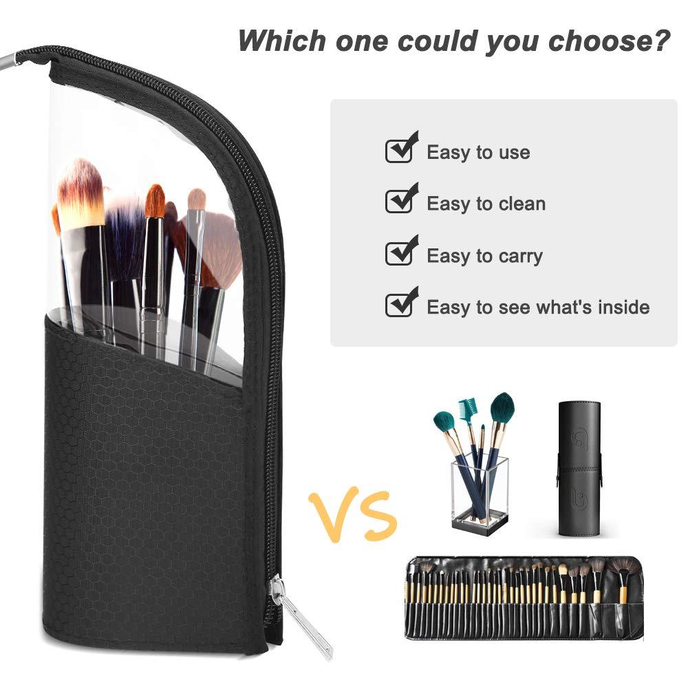 Waterproof Makeup Brush Travel Case