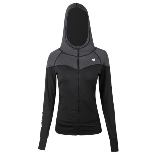 Moonbean Hooded Fitness Jacket