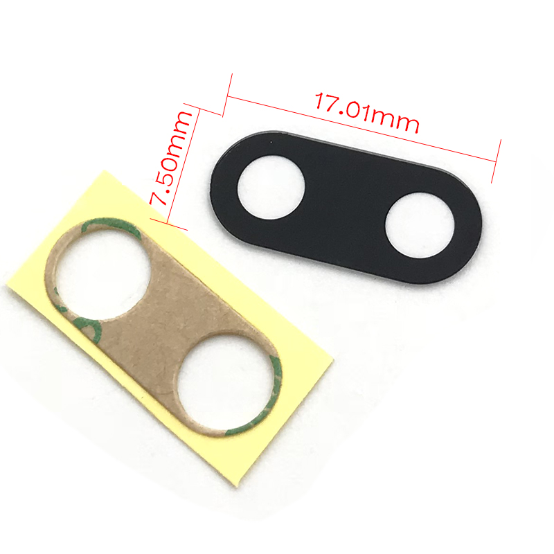 New Rear Back Glass Camera Lens Cover Compatible For Meizu Pro 7 With Adhesive Tape Replacement Spare Parts