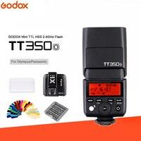 Godox Mini Speedlite TT350O Camera Flash TTL HSS GN36 + + X1T O Flash Transmitter for Olympus/Panasonic Mirrorless DSLR Camera