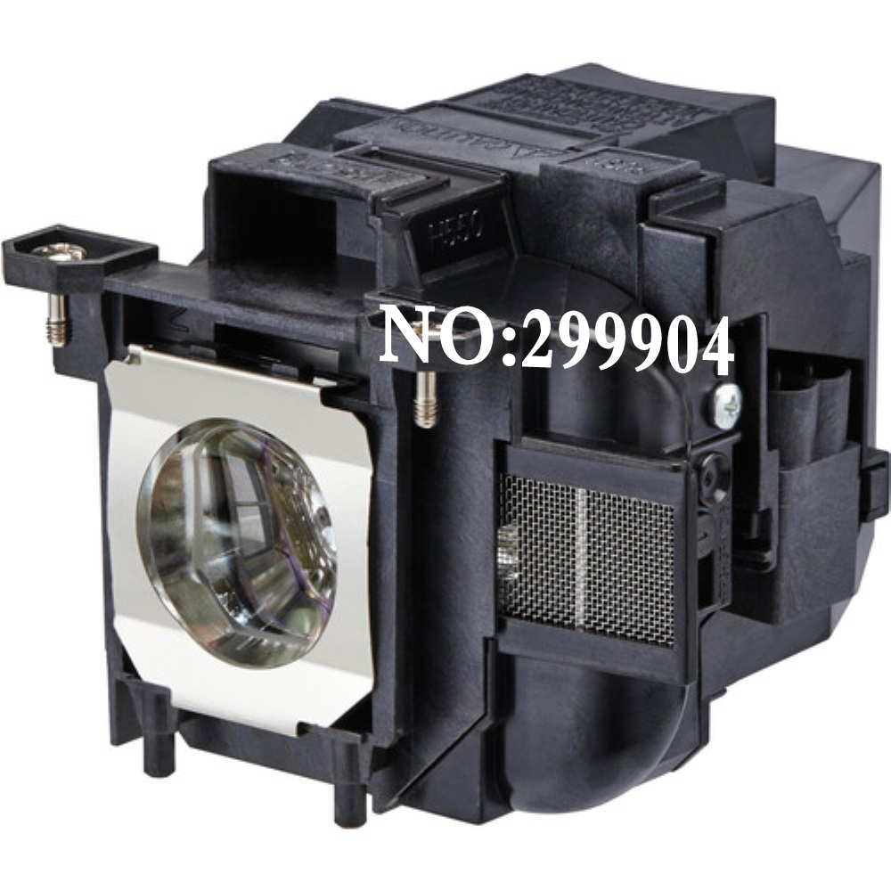 Replacement Original Projector ELPLP87 Lamp For EPSON PowerLite 520, 525W, 530, 535W, 2040, 2140W BrightLink 536Wi projectors replacement original projector elplp88 lamp for epson powerlite s27 x27 w29 97h 98h 99wh 955wh and 965h projectors
