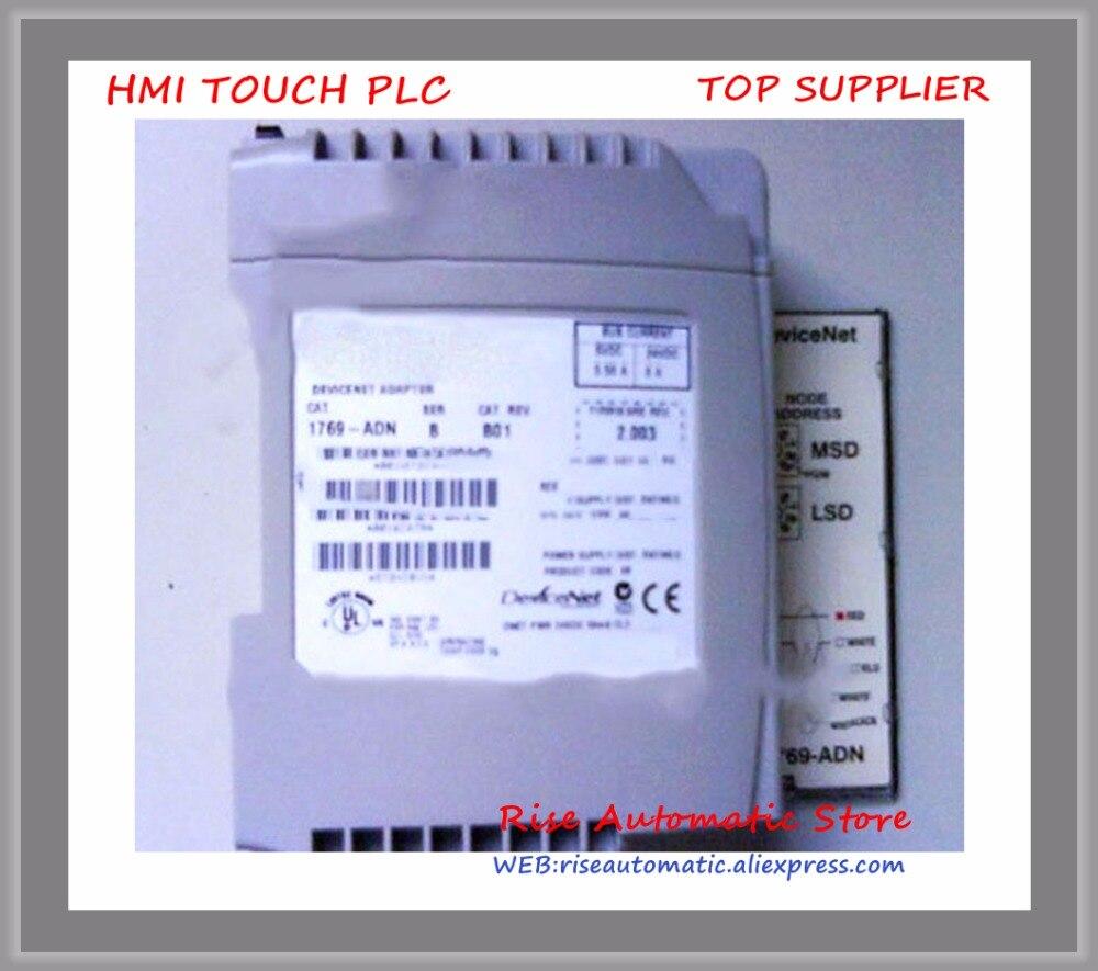 1769-ADN PLC CompactLogix DeviceNet Adapter Module New Original beautiful gift new usb to rs232 db9 serial com convertor adapter support plc drop shipping kxl0728