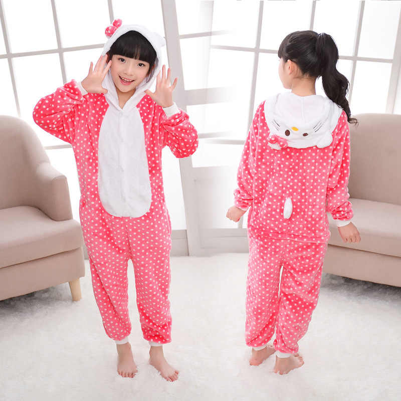 3 עיצובים קשת חתול סרבל תינוקות פיג 'מה Kigurumi בעלי החיים Cosplay תלבושות ליל כל הקדושים משפחת פיג' מות נשים