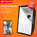 "Godox Portable 60 * 90cm / 24"" * 35"" Umbrella Photo Softbox Reflector for Flash Speedlight"