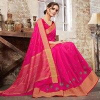 Indian Saree Custom Made Black Georgette India Sari Dress Girls Women Indian Traditional Sarees