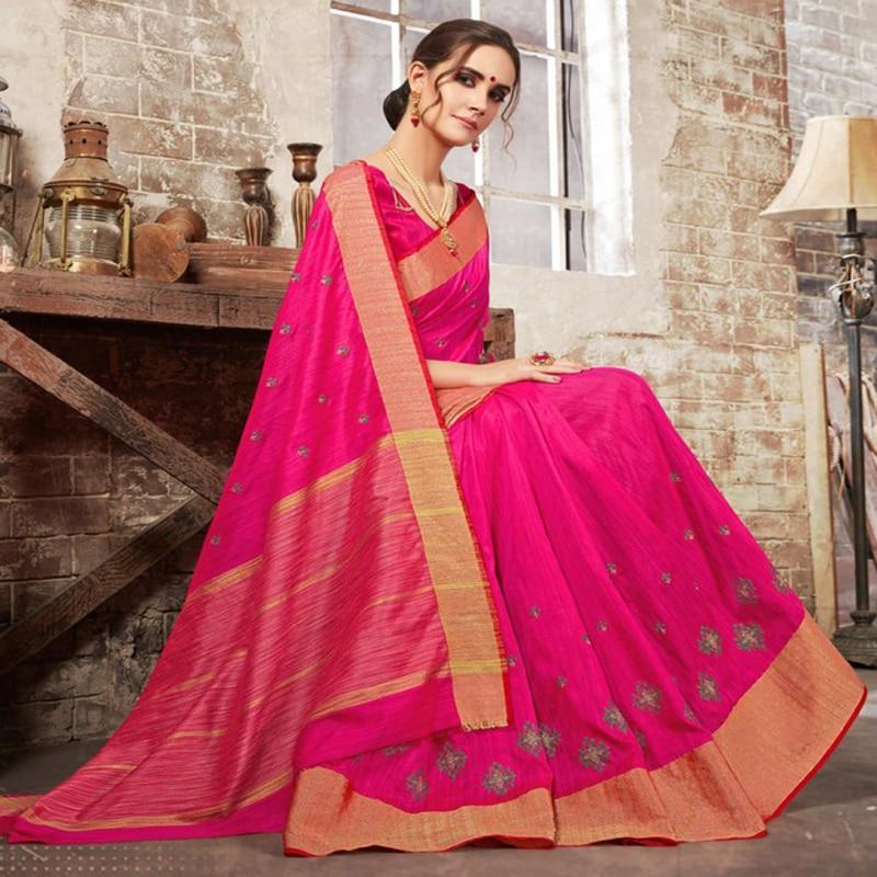 Saree indien sur mesure Georgette noire inde Sari robe filles femmes indien traditionnel Sarees