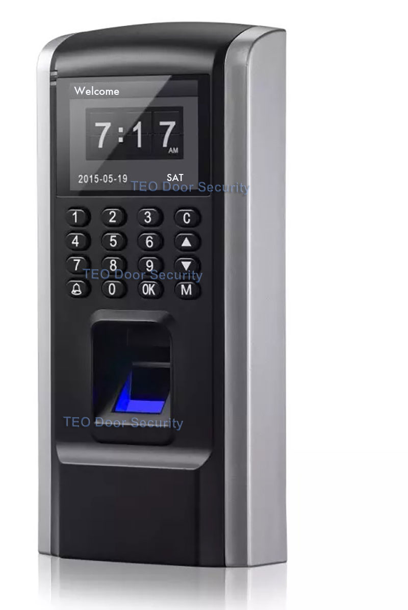 Cheaper Fingerprint Access Control Device TCP IP Employee ...