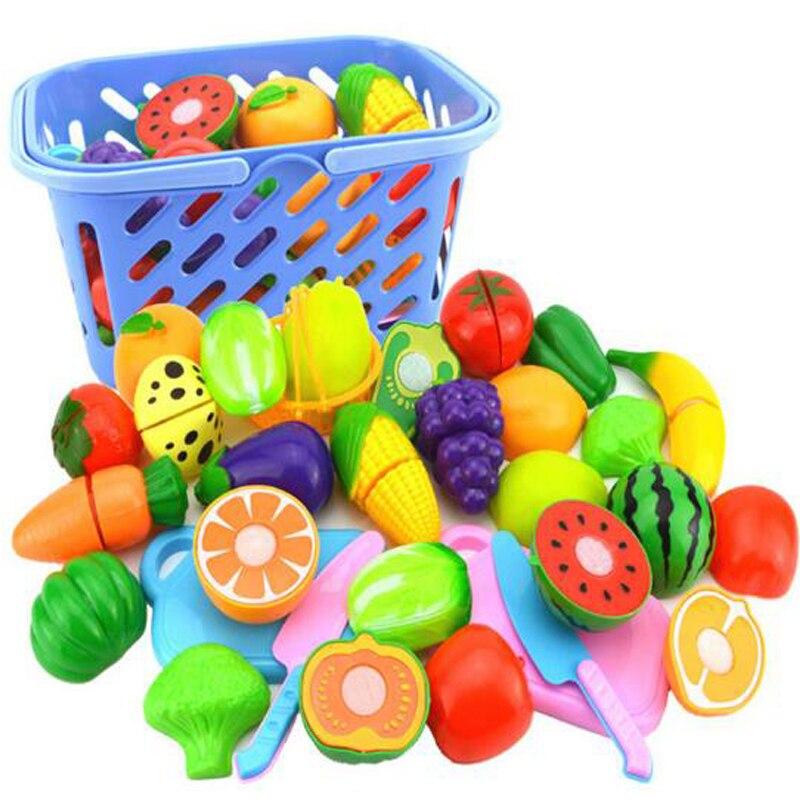 Energisch Intelligenz 23 Stück Von Kunststoff Obst Und Gemüse Küche Scheck Musik Spielzeug Frühen Entwicklung Und Baby Pädagogisches Spielzeug