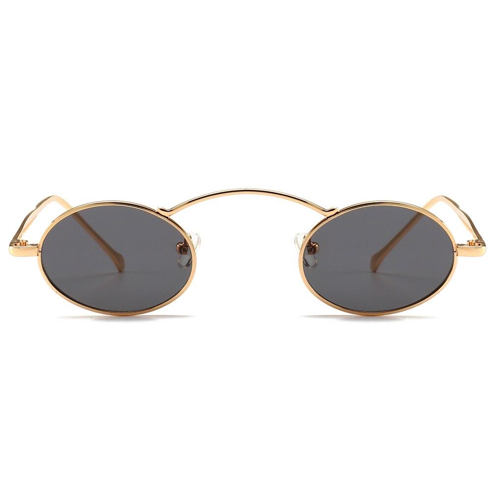 9926ee44be4e8 Aliexpress.com  Compre Peekaboo pequeno óculos de sol das mulheres de  tamanho pequeno de metal moldura de ouro preto vermelho amarelo do vintage  rodada ...