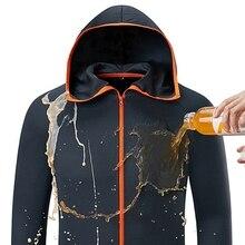 Унисекс гидрофобная противообрастающая одежда для рыбалки, водонепроницаемая быстросохнущая куртка для охоты на открытом воздухе, кемпинга, туризма, куртки с капюшоном