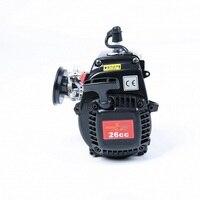 26cc 4 болта двигатель для 1/5 hpi rovan КМ baja 5b 5 т 5sc LOSI 5 т DBXL FG багги redcat rc части автомобиля