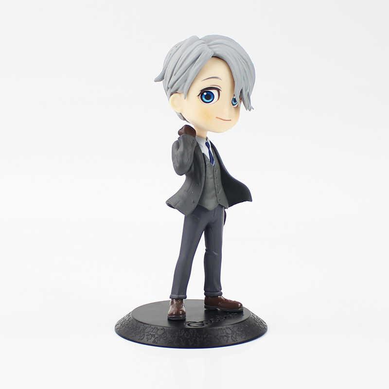 15 cm YURI!!! Sul GHIACCIO di Victor Nikiforov Yuri Plisetsky action figure giocattolo modello di base nera hot anime YURI!!! Sul GHIACCIO Yuri Katsuki