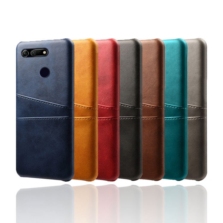 Card Pocket Phone Cover For Huawei Honor V20 View 20 Note10 V9play 9lite 10lite 8C 8XMax Honor Magic2 PU Leather Business Case in Wallet Cases from Cellphones Telecommunications