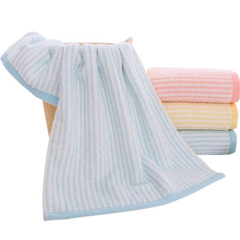 Home Textile Plain Towel Solid Color Towel Cotton