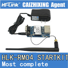 Trasporto Libero di serie wifi Ethernet wifi modulo RS232/RS485 modulo HLK RM04 startkit. Vuole una buona qualità. Si prega di scegliere noi