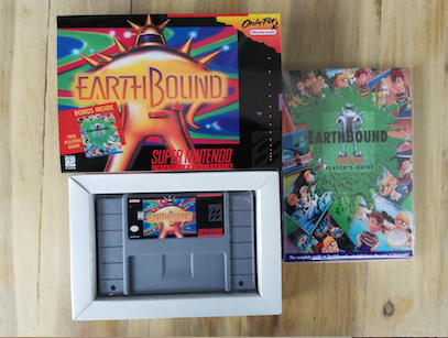16Bit Games ** Earthbound ( USA Version!! Box+Manual+Cartridge!! ) 64 bit games castlevania legacy of darkness pal version box manual cartridge