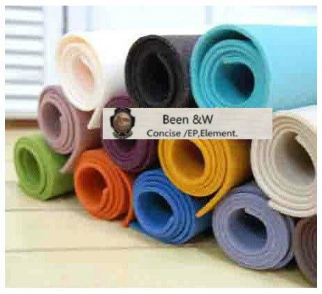 Free Shipping! Not Woven Felt Fabric, DIY Handmade Materials Background Wool Felt 2mm,17 Colors/lot Self-selection