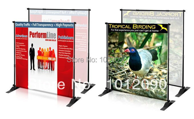 ᑐEnvío libre Jumbo banner telón pantalla altura y anchura ajustable ...