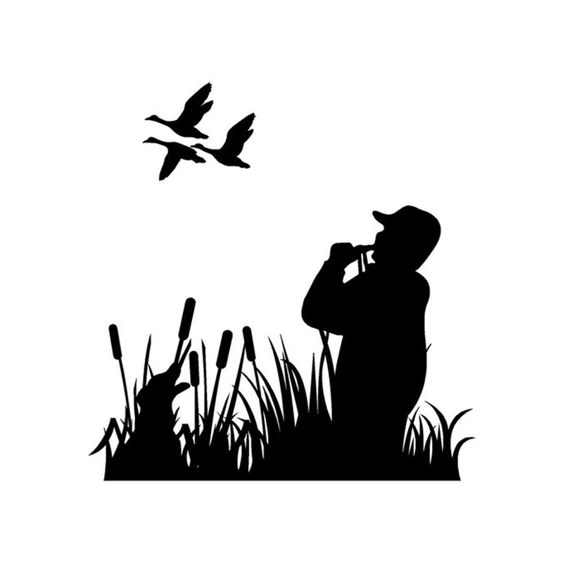Compare prices on duck hunting cartoon online shopping for Duck hunting mural