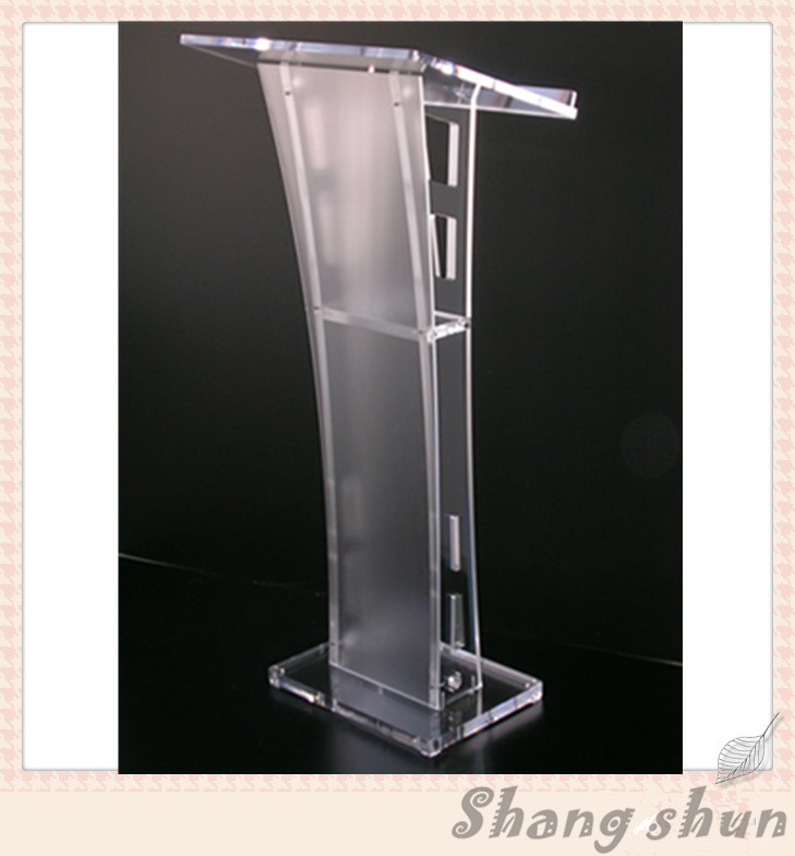 Acrylic/ Podium / Church Lectern /  Pulpit /   Lectern / Lucite Pulpit free shipping organic glass pulpit church acrylic pulpit of the church