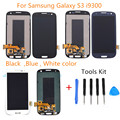 Black Blue White For Samsung Galaxy S3 i9300 LCD Display touch screen with Digitizer Full Assembly Free Tools Replacement
