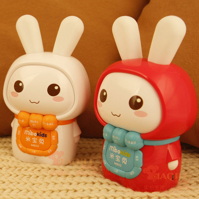 Meters rabbit child mp3 story machine pre-teaching music prenatal machine charge baby educational toys