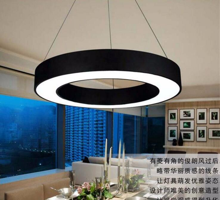 Office Shaped Hollow Circle Led