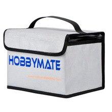 แบตเตอรี่ Lipo Safe BAG Lipo ซอง GUARD ทนไฟ สำหรับ LiPo แบตเตอรี่ Charge & Storage HOBBYMATE
