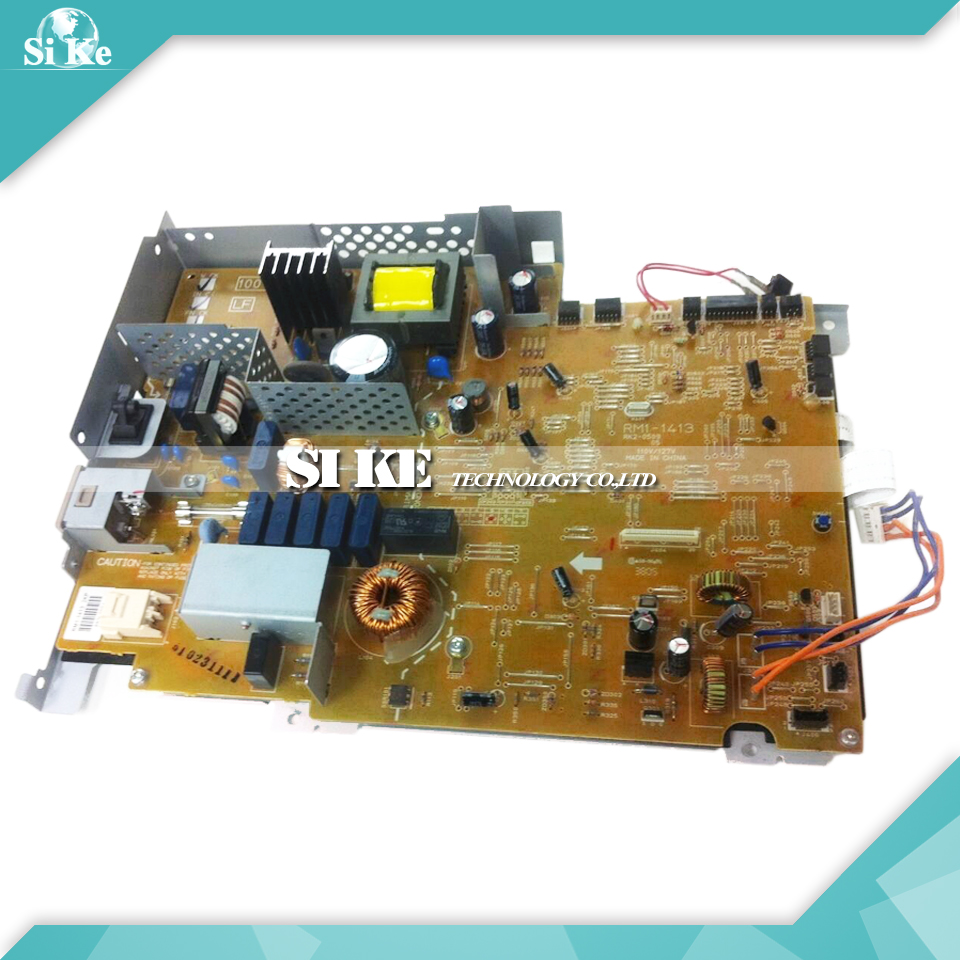 ФОТО LaserJet  Engine Control Power Board For HP 2400 2420 2430 RM1-1413 RM1-1414 HP2400 HP2420 HP2430 Voltage Power Supply Board