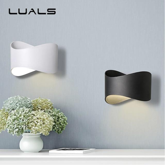 ≥ aluminium wit design wandlamp v keken bank slaapkamer hal ...