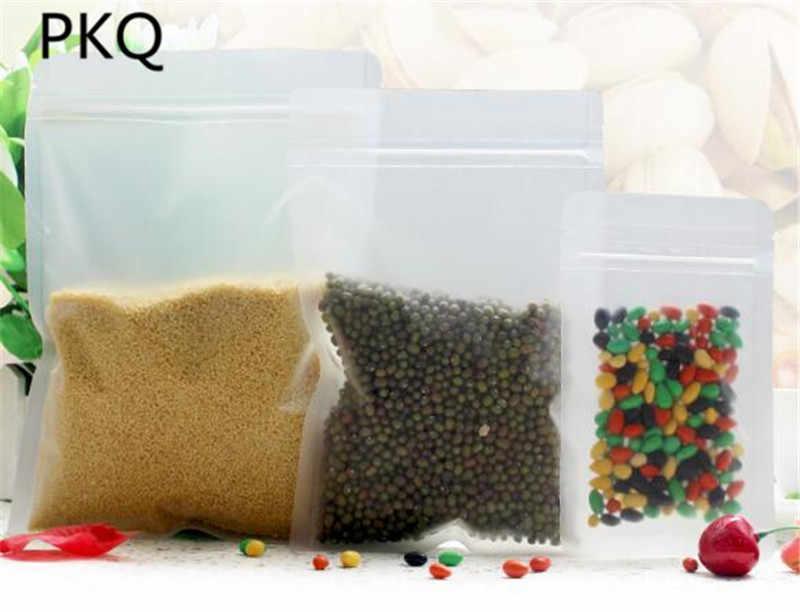 10 шт мульти-Размеры Прозрачный закрывающимися Предотвращающая появление запаха упаковки zip-пакет контейнер для закусок термоусадочная пленка повторно закрывающийся пакет
