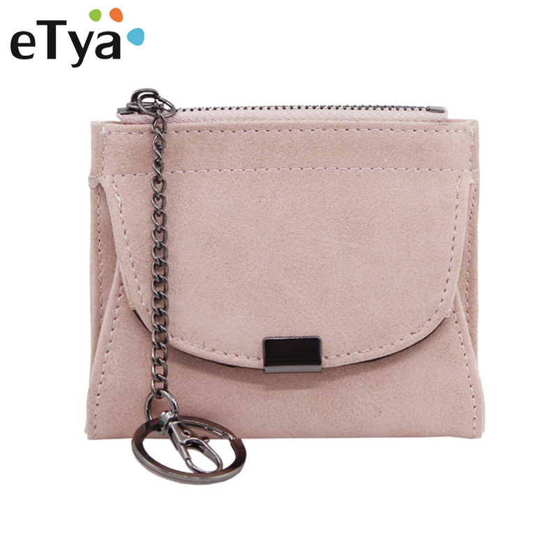 Fashion Short Women Wallets and Purses Ladies Pu Leather Small Money Bag Women's Wallet Female Mini Coin Card Holder Purse Bags hot sale owl pattern wallet women zipper coin purse long wallets credit card holder money cash bag ladies purses