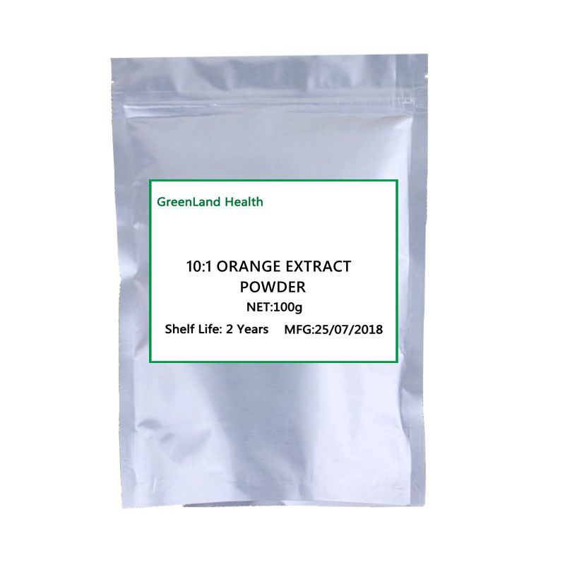 Hot Selling 10:1 Pure Natural Orange Extract Powder, Vitamin C, Cosmetology Skin Whitening  Fruit Powder,Weight Loss,Health,Bes