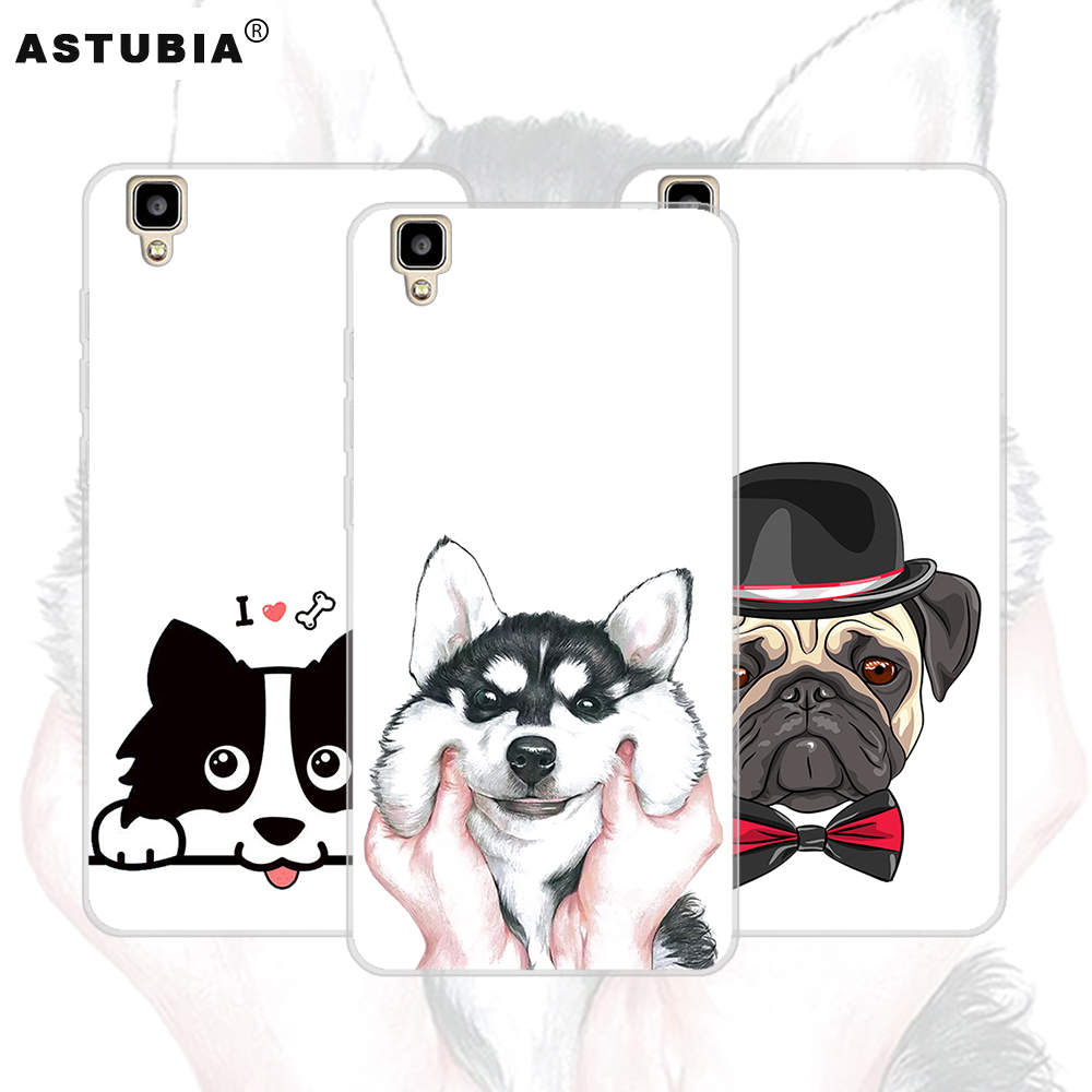 ASTUBIA Cute Dog Case For Bluboo Maya Case Cover For Umi London Case Silicone Hat Bulldog Capa For Bluboo Maya Max Phone Cases