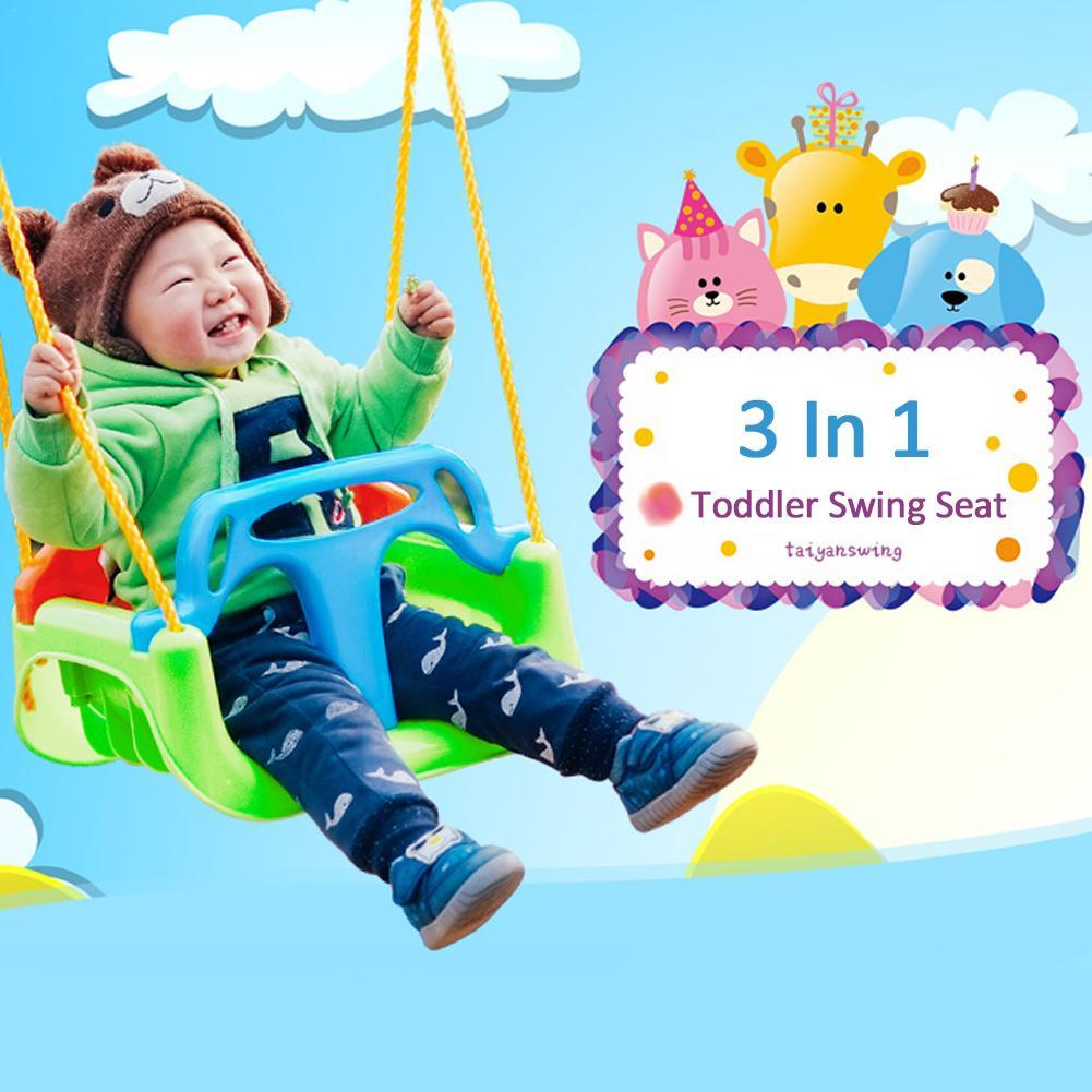 Enfants balançoire siège Durable sûr arbre balançoire siège pour enfant maternelle aire de jeux en plein air suspendu jouet enfant en bas âge intérieur enfants chaises