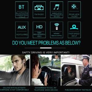 """Image 3 - 9601 7 """"HD Màn Hình Cảm Ứng Đa Năng Bluetooth Xe Hơi MP4 MP5 Người Chơi Điều Hướng Đài FM Ổ Đĩa U/AUX/ thẻ SD Phát Lại Gương Chiếu Hậu"""